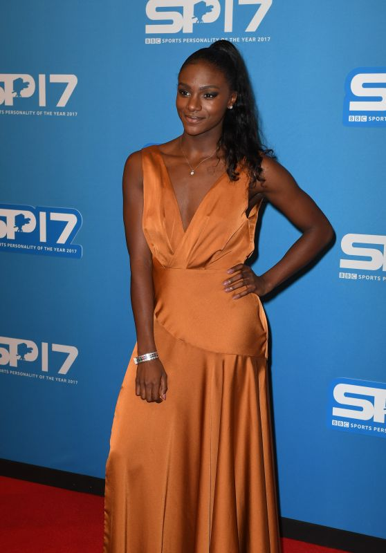 Dina Asher-Smith At BBC Sports Personality Of The Year 2017, Echo Arena in Liverpool