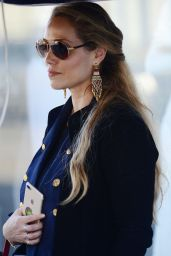 Elizabeth Berkley Is spotted out running errands in Los Angeles