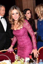 Elizabeth Hurley Attends the Look Woman Of The Year Awards Gala in Vienna, Austria