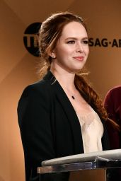 Elizabeth McLaughlin At 24th Screen Actors Guild Awards Nominations, Los Angeles