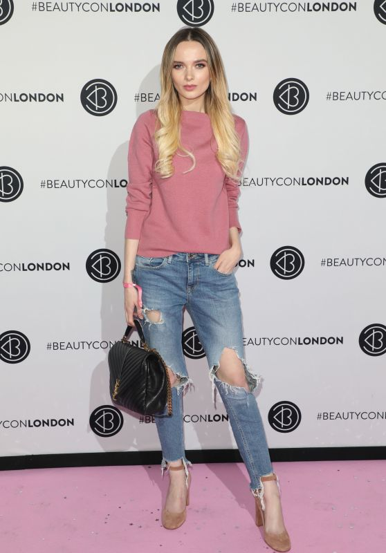 Em Ford At Beautycon arrivals, London, UK