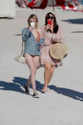 Emma Roberts At the beach in Miami