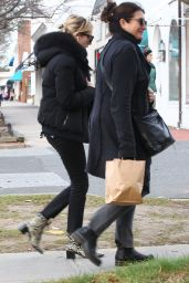 Emma Roberts Out for shopping with her mum in the Hamptons