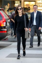 Emmy Rossum Casually shops in Beverly Hills