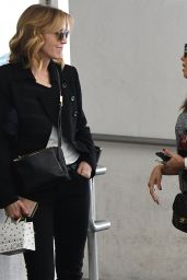 Eva Longoria and Felicity Huffman Having a chat in Beverly Hills