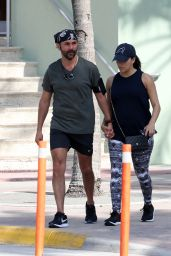 Eva Longoria Out and about in Miami Beach