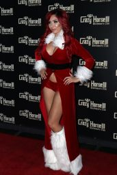 Farrah Abraham At Farrah Abraham As Sexy Santa Host Crazy Horse III Neon Flow