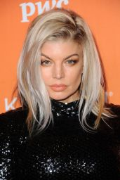 Fergie At TrevorLIVE fundraiser in Los Angeles