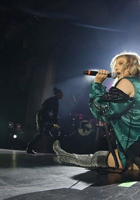 Fergie Performing in concert in NYC