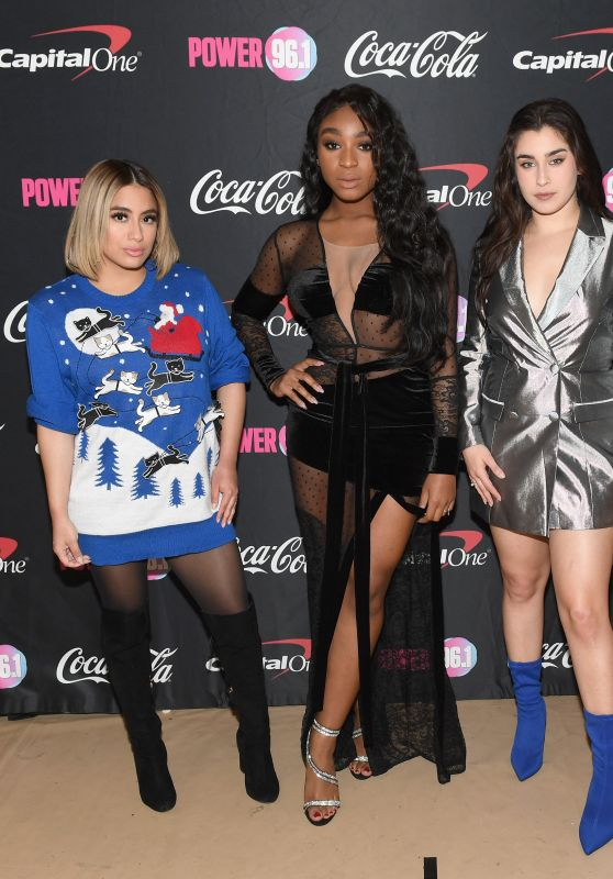 Fifth Harmony Performs onstage during Power 96.1