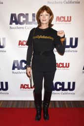 Frances Fisher At ACLU SoCal Hosts Annual Bill of Rights Dinner at the Beverly Wilshire Four Seasons Hotel in Beverly Hills