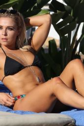 Gabby Allen Seen showing off her enviable body whilst on holiday in Marbella