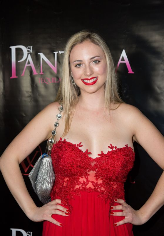 Galassia Grassetto At Opening night of Farinelli and the King at the Belasco Theatre, New York