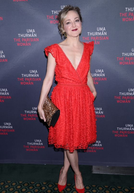 Geneva Carr At Opening night for The Parisian Woman at the Hudson Theatre, New York