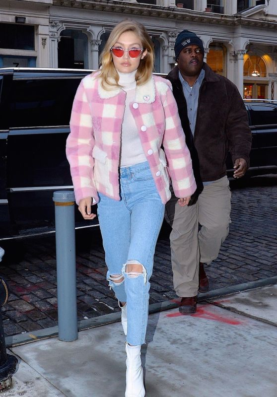 Gigi Hadid Out in NYC