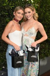 Greer Grammer At Lyda Beauty Launches Cleopatra Cat Eye Stamp at Ivory on Sunset at Mondrian - Los Angeles