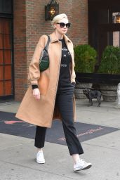 Gwendoline Christie Steps out in New York