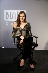 Hailee Steinfeld At BUILD LDN at the AOL Studios in London, UK
