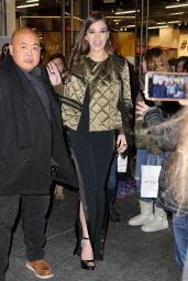 Hailee Steinfeld Leaving The Tonight Show Starring Jimmy Fallon in NYC