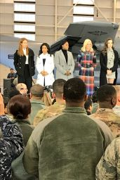 Hailee Steinfeld Visits Joint Base McGuire-Dix-Lakehurst, NJ with The Today Show