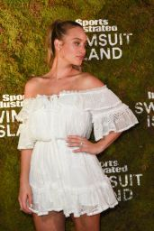 Hannah Davis (Jeter) At Sports Illustrated Models Bungalow Party in Miami