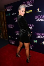Hatty Keane Attends Bingo The King Of The Morning premiere at Curzon Mayfair in London