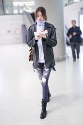 He Sui At Shanghai International Airport, China