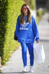 Heidi Klum Shopping for Christmas gifts in West Hollywood