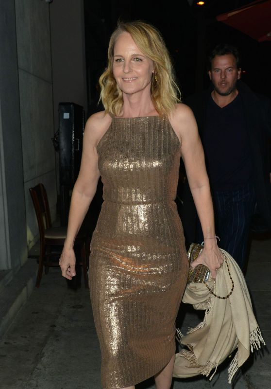 Helen Hunt Out For A Dinner Date At Craig