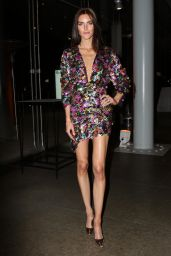 Hilary Rhoda At Whitney Art Party in NYC