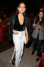 Inanna Sarkis At Alice & Olivia denim launch party, Los Angeles