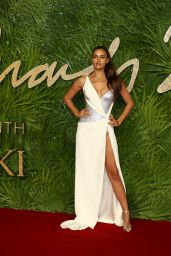 Irina Shayk At The British Fashion Awards 2017 in partnership with Swarovski at the Royal Albert Hall in London