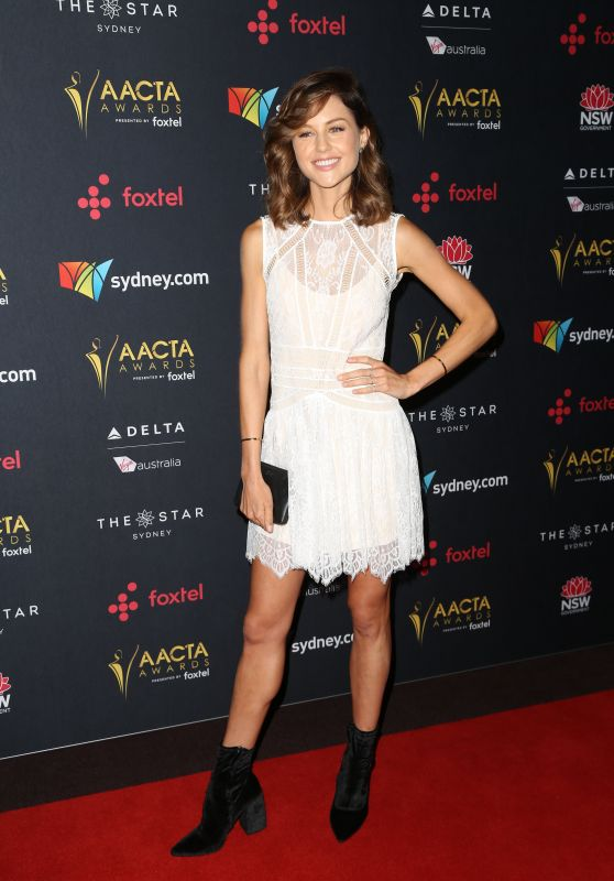 Isabelle Cornish At AACTA Awards luncheon in Sydney