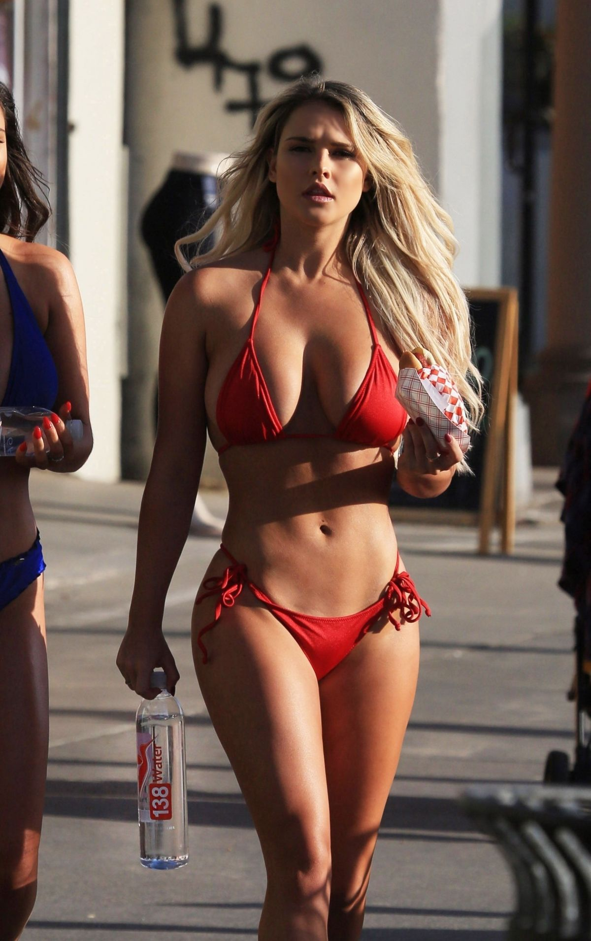 Jamie Leigh and Kinsey Wolanski – 138 Water Bikini Photoshoot in Venice Beach Pic 35 of 35