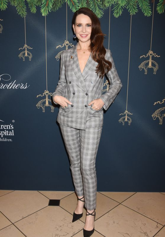 Janie Bryant At Brooks Brothers and St. Jude Annual Holiday Party held at the Brooks Brothers Rodeo Drive Store