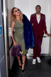 Jay-Z and Beyonce Go to the Angelika Film Center & Cafe for Jay-Z