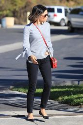 Jenna Dewan Keeps it relaxed while out in Studio City