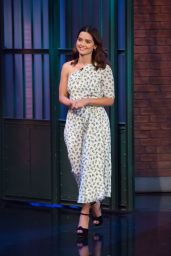 "Jenna-Louise Coleman At ""Late Night with Seth Myers"" in NYC"