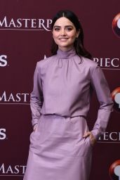 """Jenna-Louise Coleman At """"Victoria"""" Season 2 Premiere in NYC"""