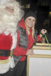 Jennifer Ellison Attends A Christmas Light Switch On Events in Blackpool