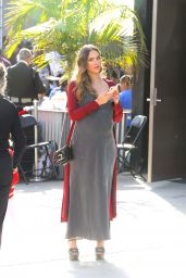 Jessica Alba Seen arriving to the Lyft Community Holiday Fiesta Event in Los Angeles