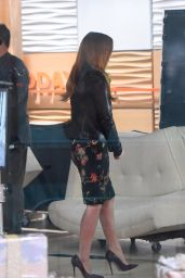 Jessica Chastain On the set of the Today show in New York