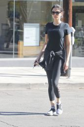 Jessica Gomes After her workout sessions in Beverly Hills