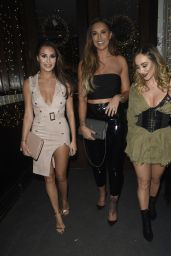 Jessica Shears, Chloe & Lauryn Goodman At Night Out at Living Room in Manchester