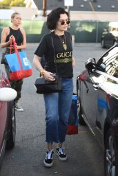 Jessie J Steps out to do a little shopping with her girlfriend at Opening Ceremony in West Hollywood