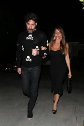 Joe Manganiello & Sofia Vergara Spotted outside Jennifer Klein