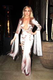 Jorgie Porter On her way to her birthday party in London