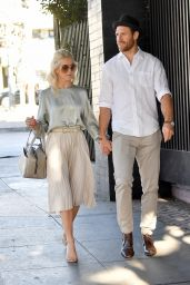 Julianne Hough Leaves church services with Brooks Laich on Christmas Eve in LA