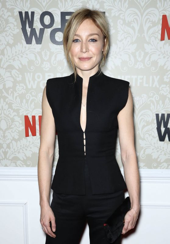 Juliet Rylance At New York Launch Party for the Netflix Original Story WORMWOOD at The Campbell, USA