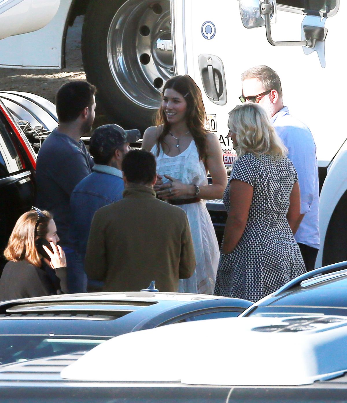 Justin Timberlake Directs His Wife, Jessica Biel On The